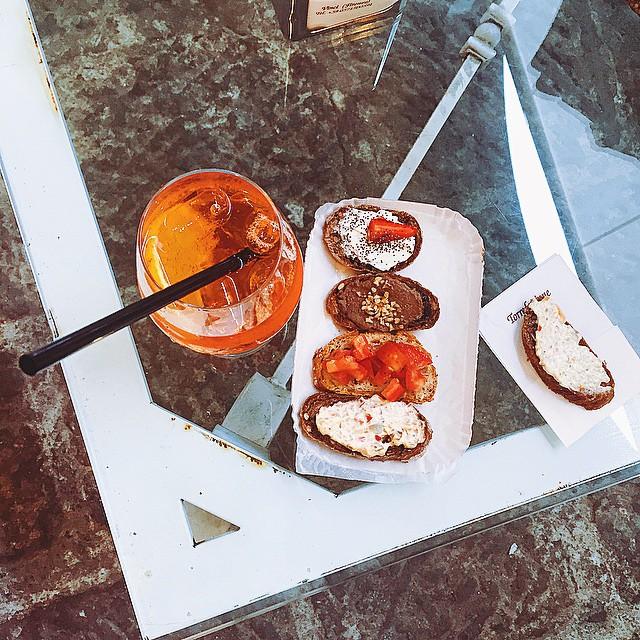 Lo #spritz dopo lo #swap al caffè #marinomarini