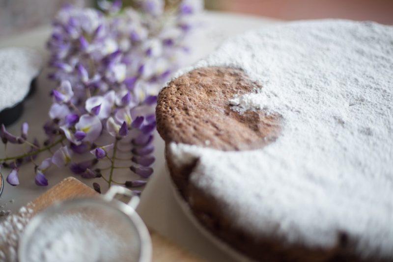 torta al cioccolato senza burro-6