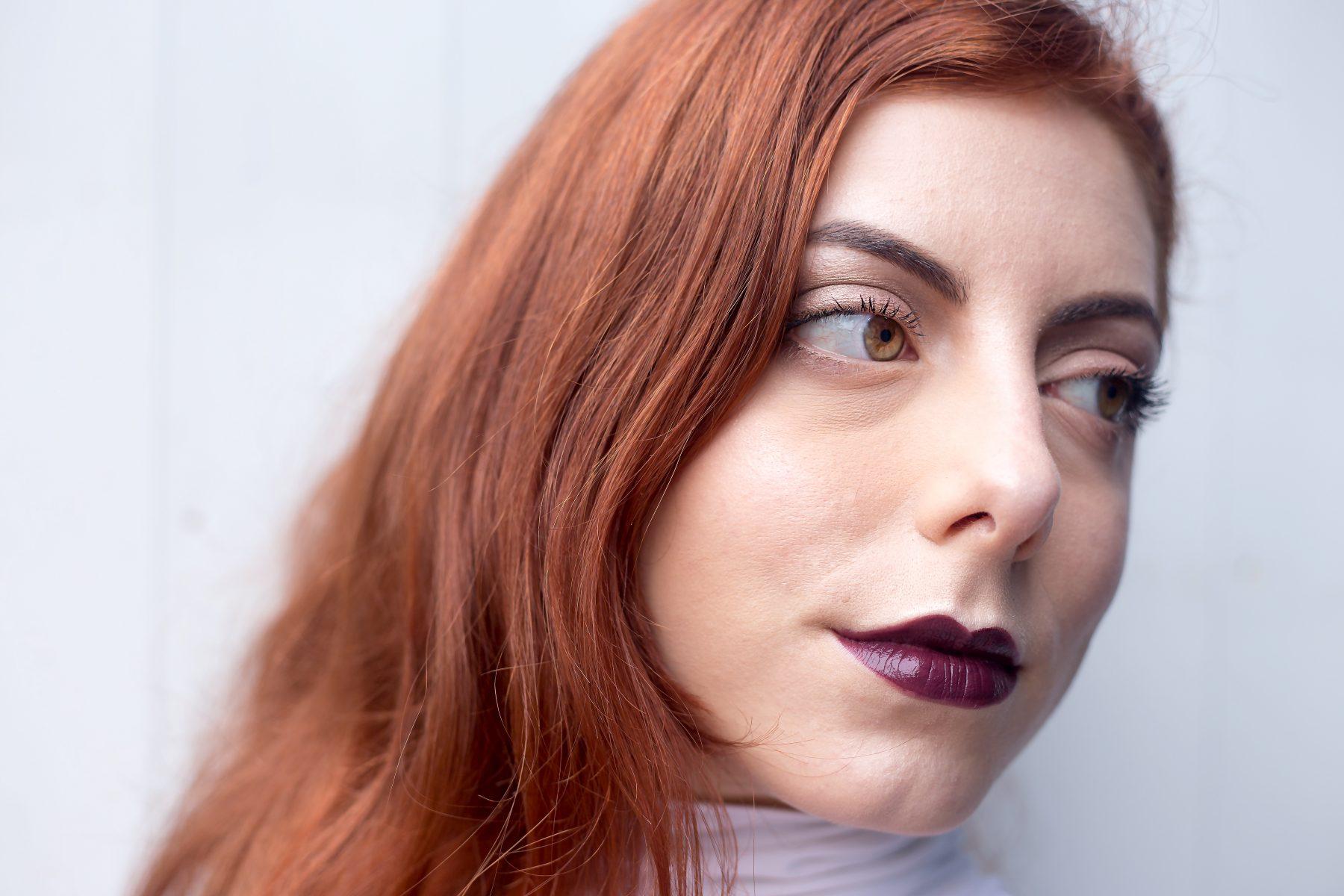 primo tentativo: capelli rossi su base biondo cenere