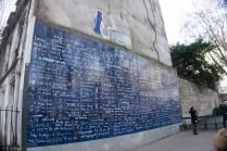 muro dell'amore parigi