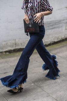 jeans a zampa outfit