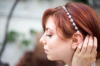fascia per capelli gioiello