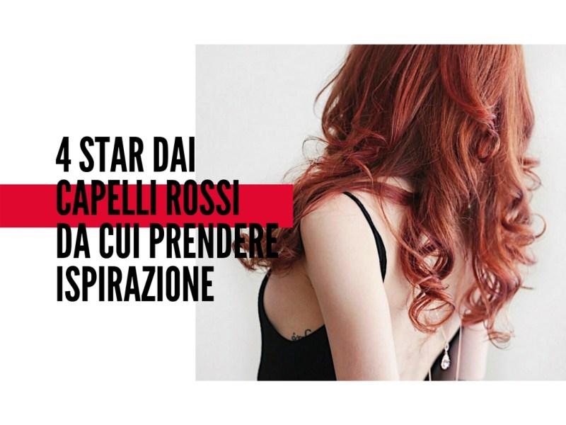 capelli rossi ispirazioni