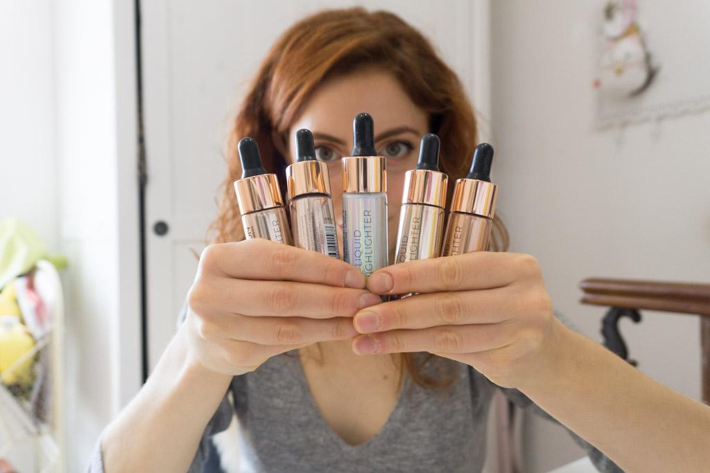 LIQUID HIGHLITHER Makeup Revolution