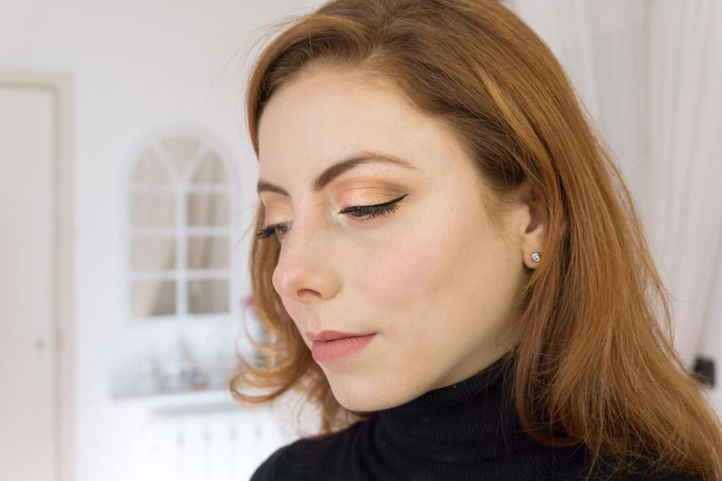 dreamy eyeshadow palette nabla makeup look