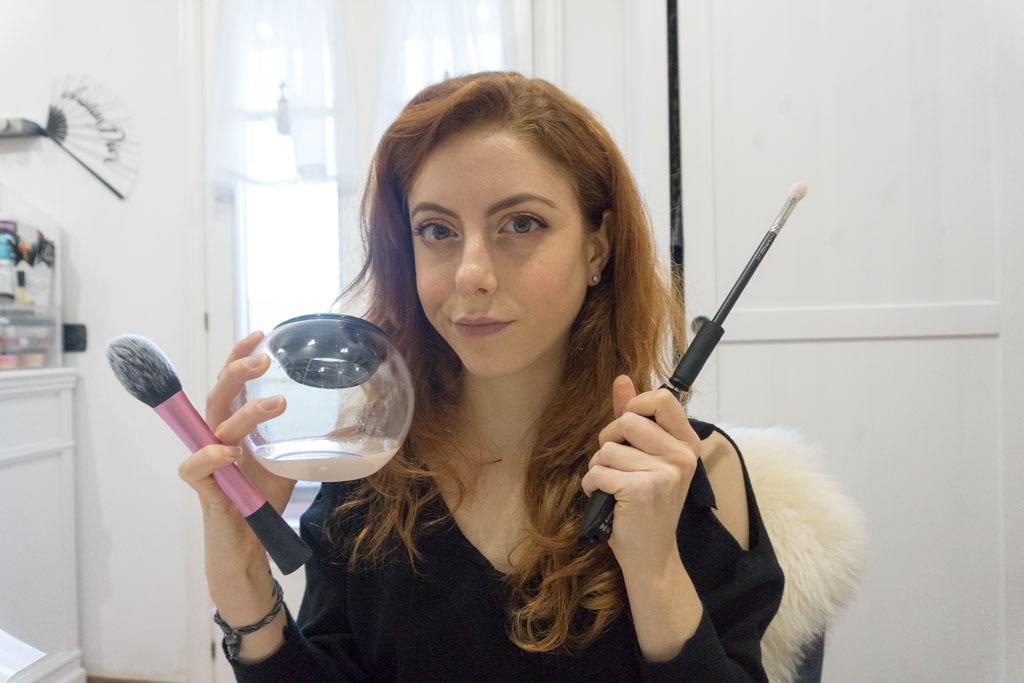 stylPro brush cleaner apparecchio per la pulizia dei pennelli