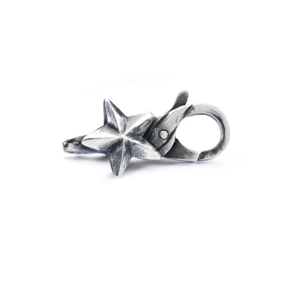 Bracciale Trollbeads Start chiusura stella in argento