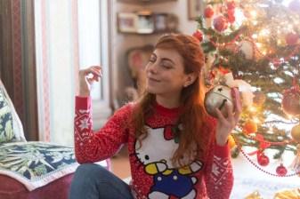 HELLO kitty x asos maglione natalizio OUTFIT