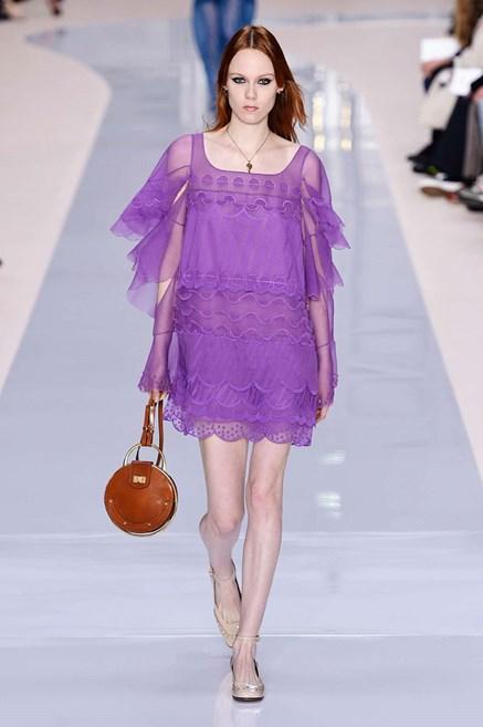 Ultra Violet chloè vestito