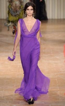 Ultra violet fashion alberta ferretti