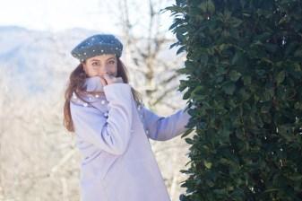 cappotto con perle inverno