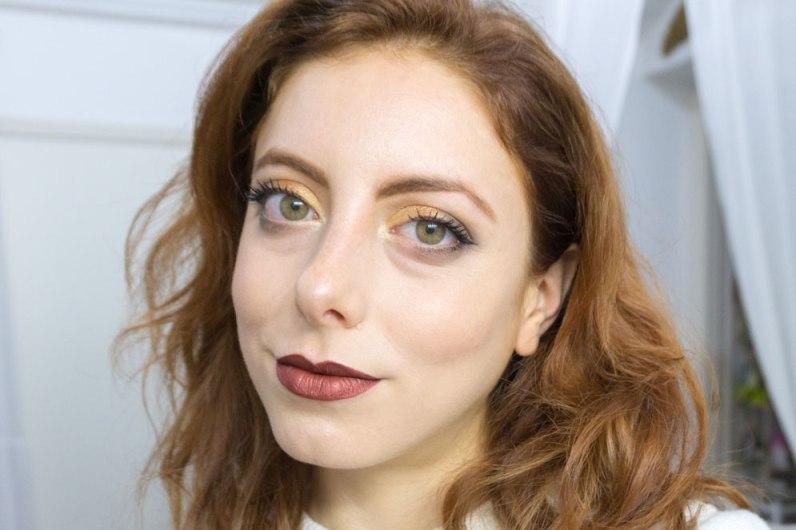 Prism Palette Makeup Look