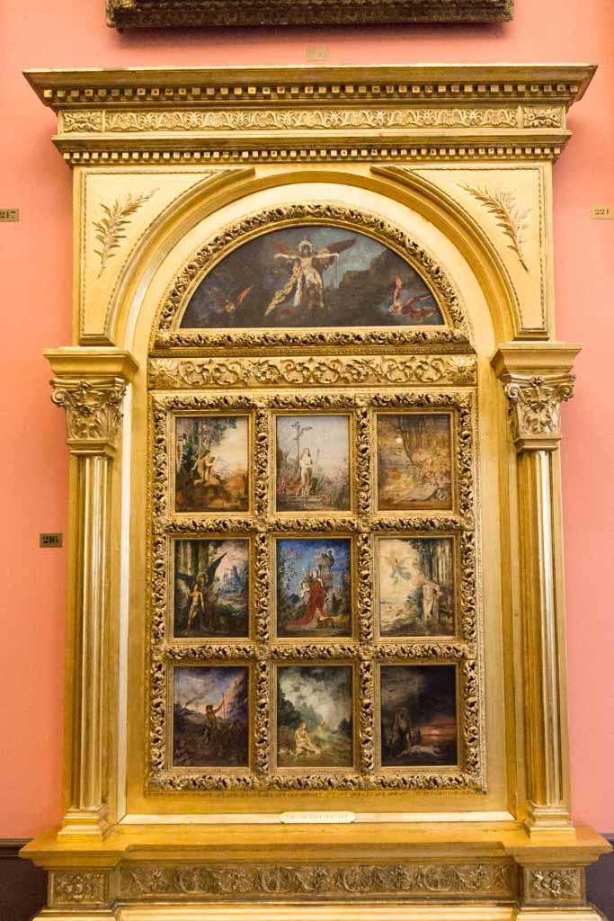 ultimo giorno di parigi musee gustave moreau
