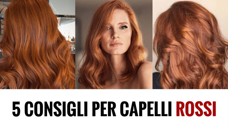 Fare i capelli rossi naturali