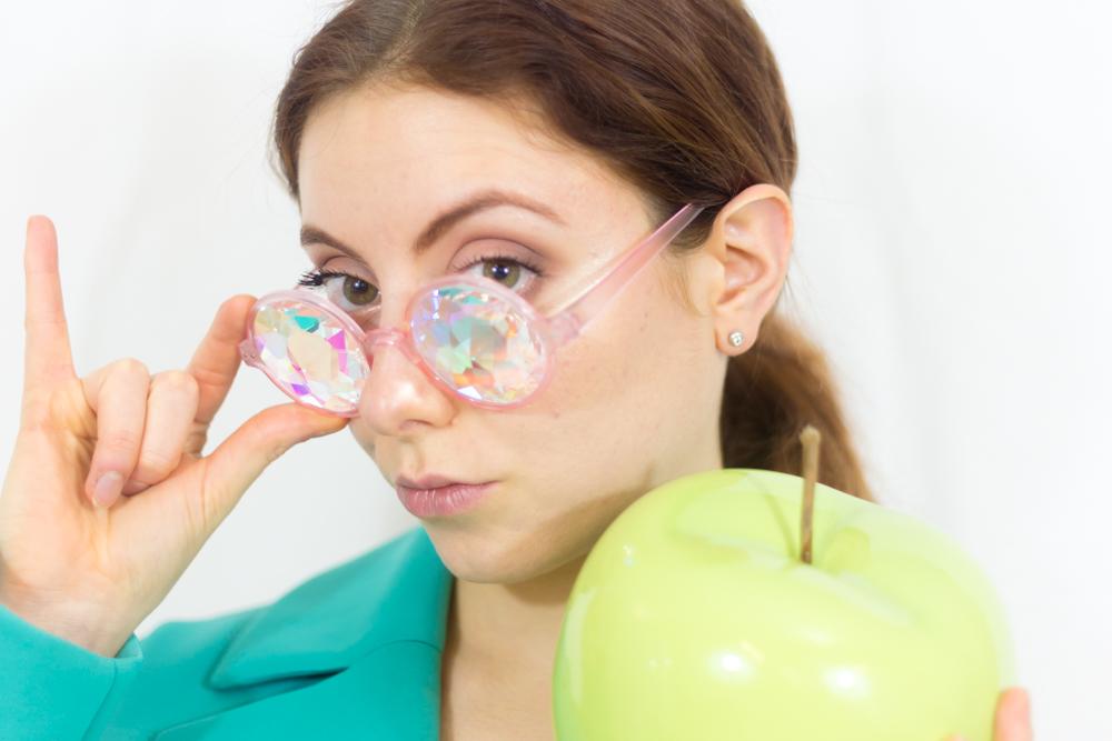 occhiali psichedelici amazon