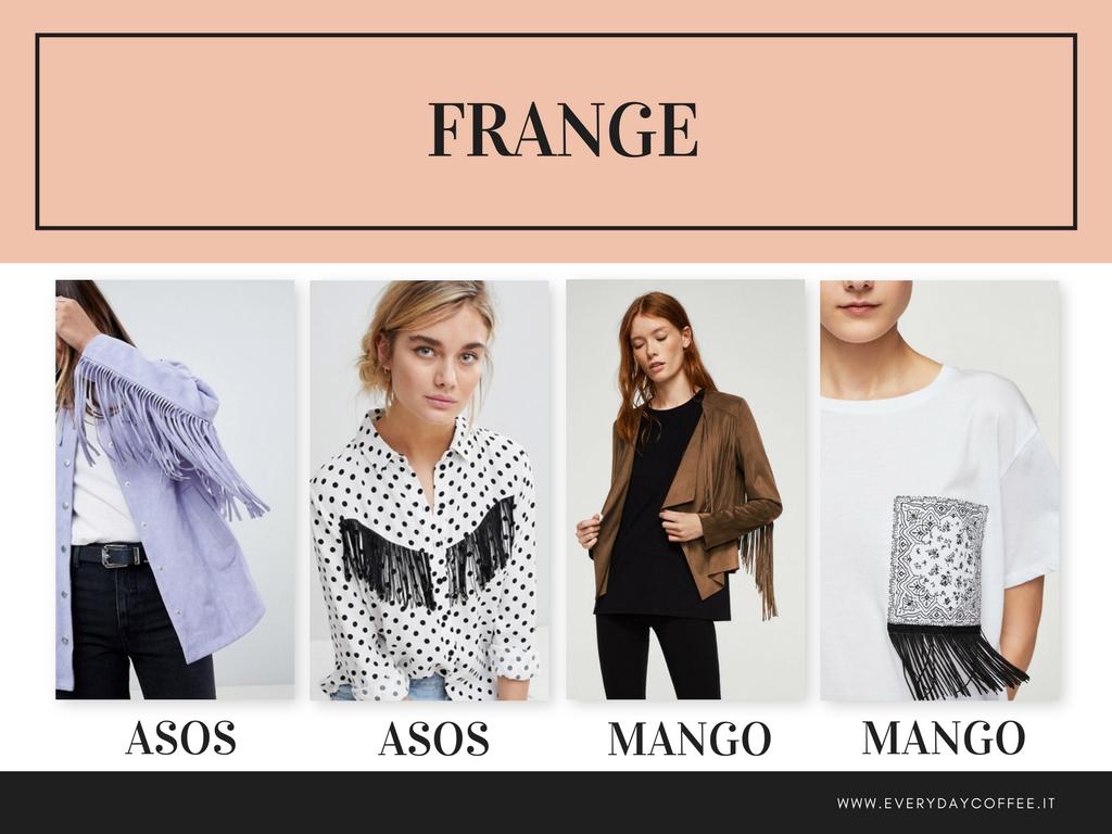 tendenza moda primavera estate 2018 frange