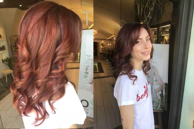 Sfumature capelli rossi