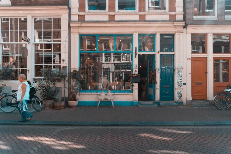 amsterdam vlog vintage store