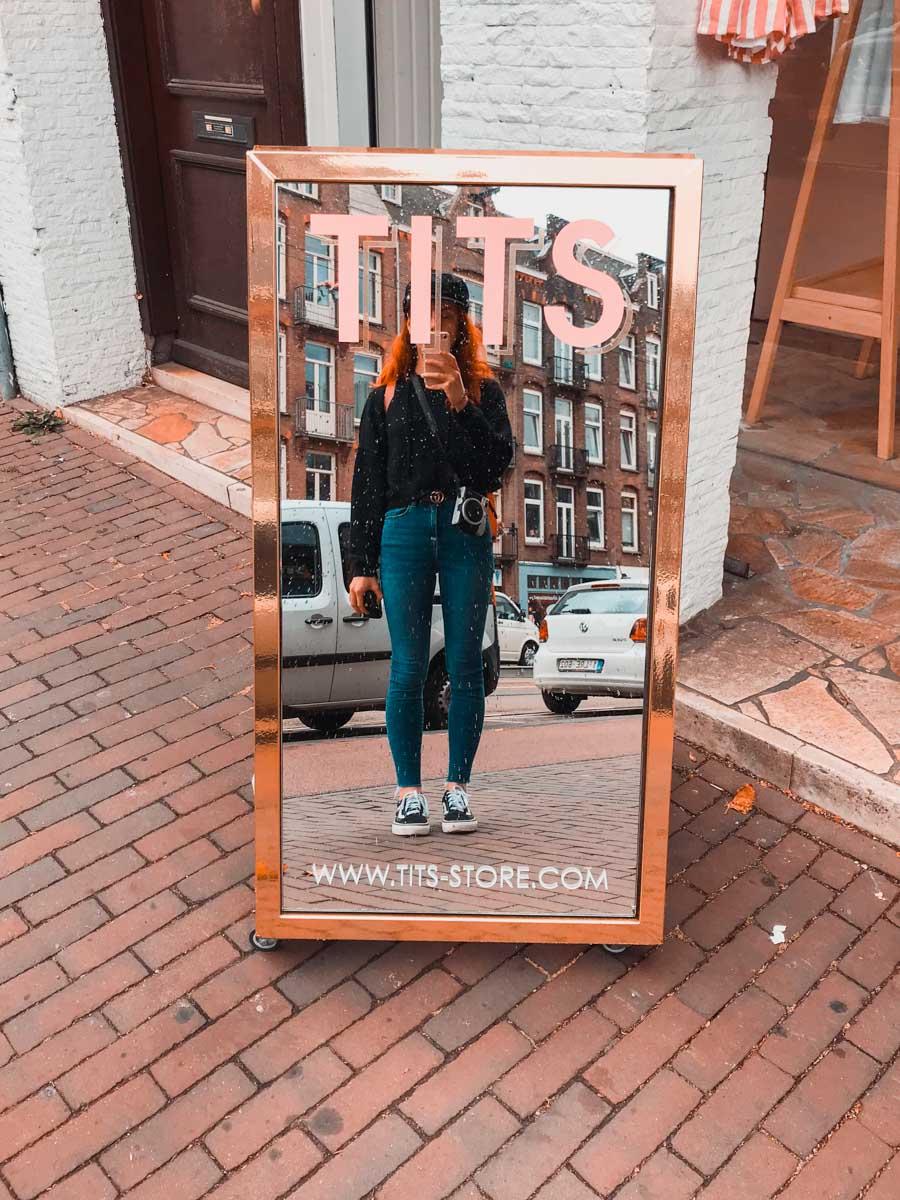 tits store amsterdam