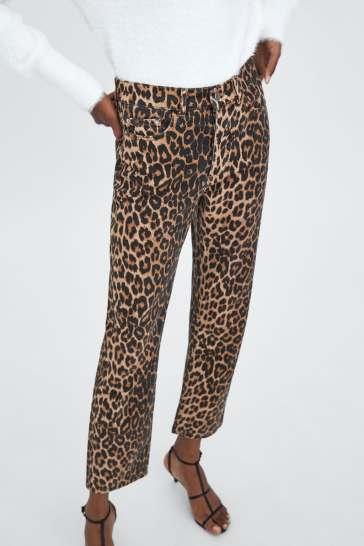 Zara pantaloni animalier