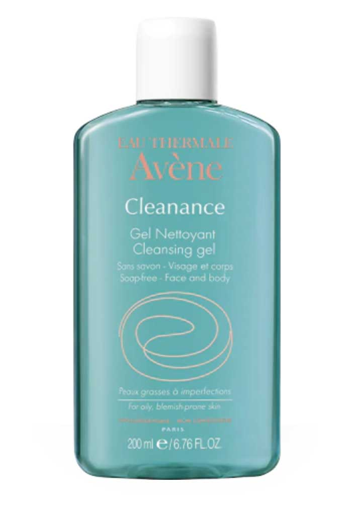 gel detergente cleanance avène contro l'acne