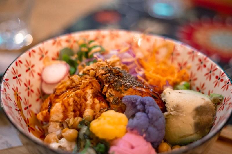 bowl vegetariana il papavero street gourmet