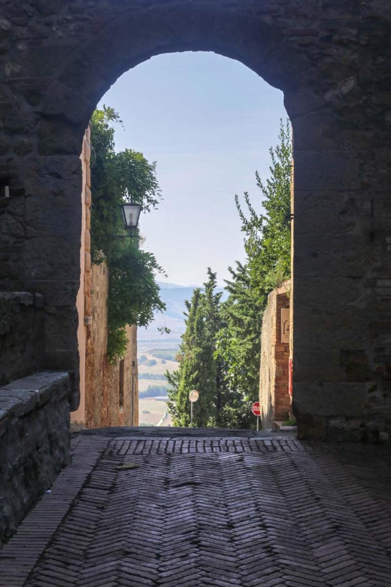 pienza portale