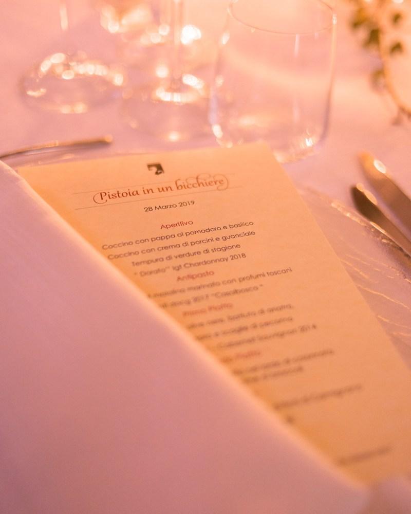 menu cena di gala borgo antico casalbosco
