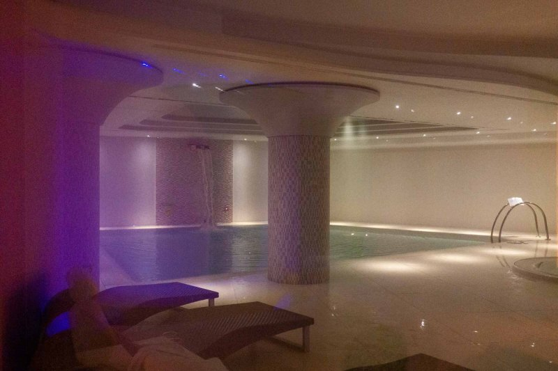 Valle di Assisi Hotel Spa & Golf piscina interna
