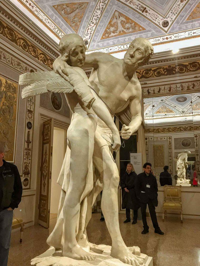 musei di piazza san marco sculture di canova
