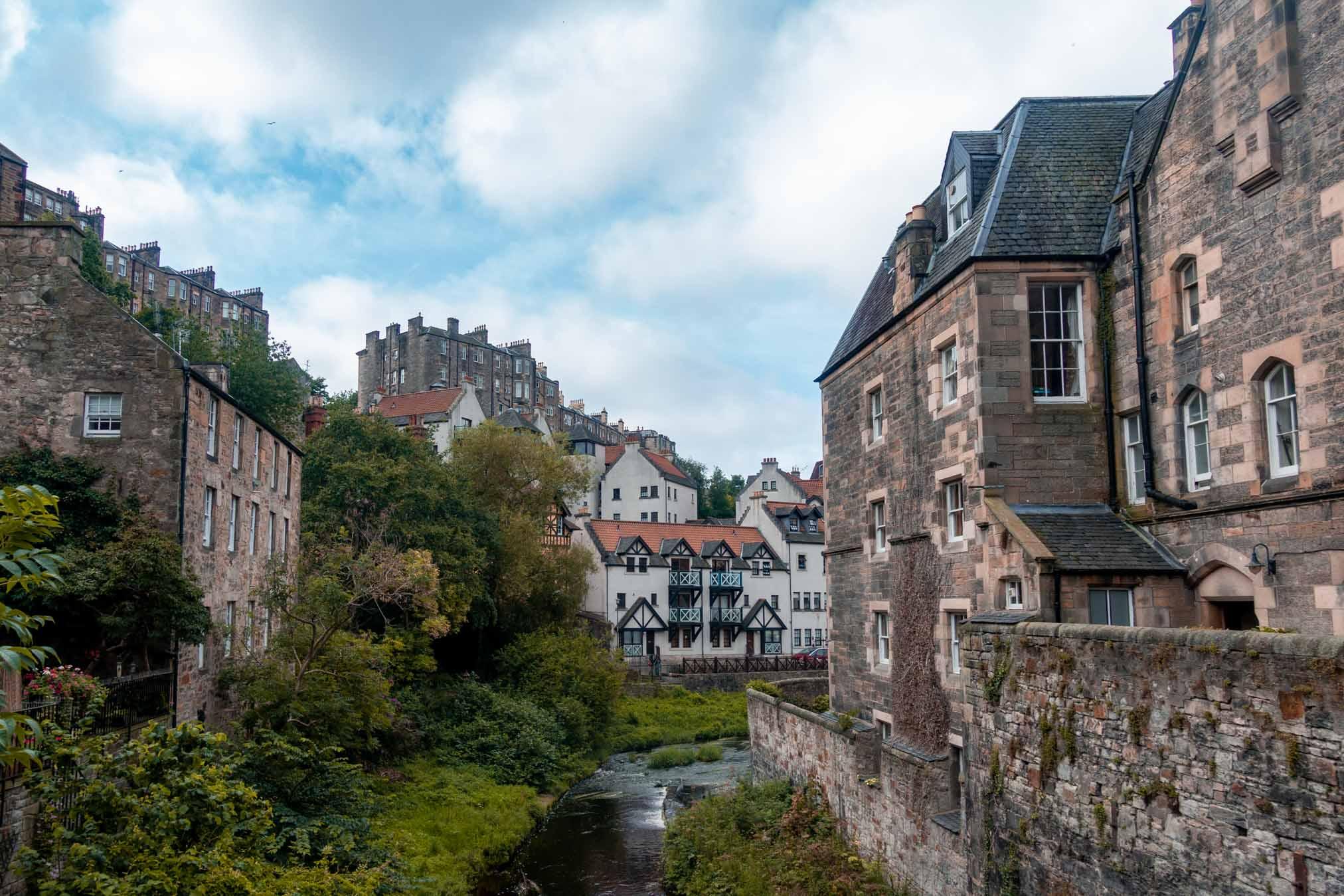 Dean Village a Edimburgo, il posto perfetto per passeggiare