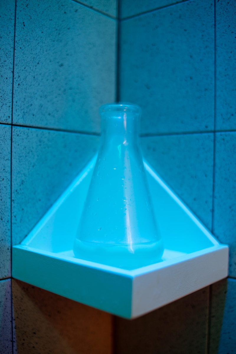 doccia aromatica nel lush lab