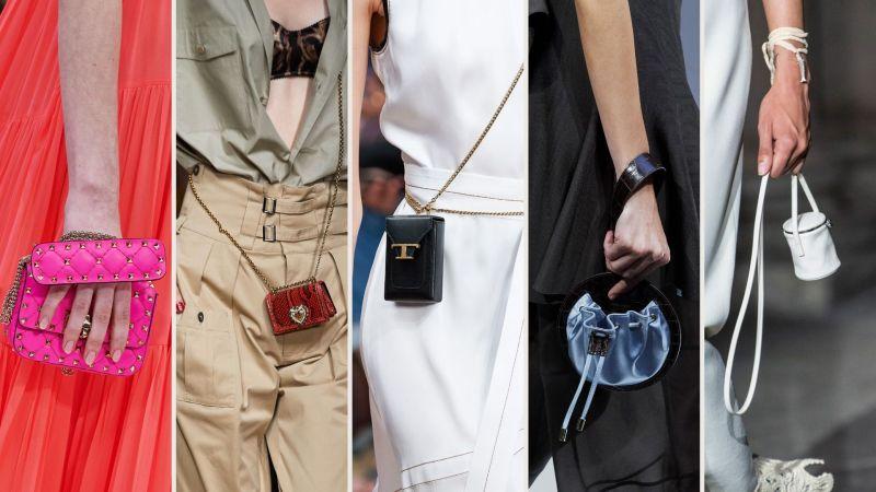 micro bag, moda primavera estate 2020