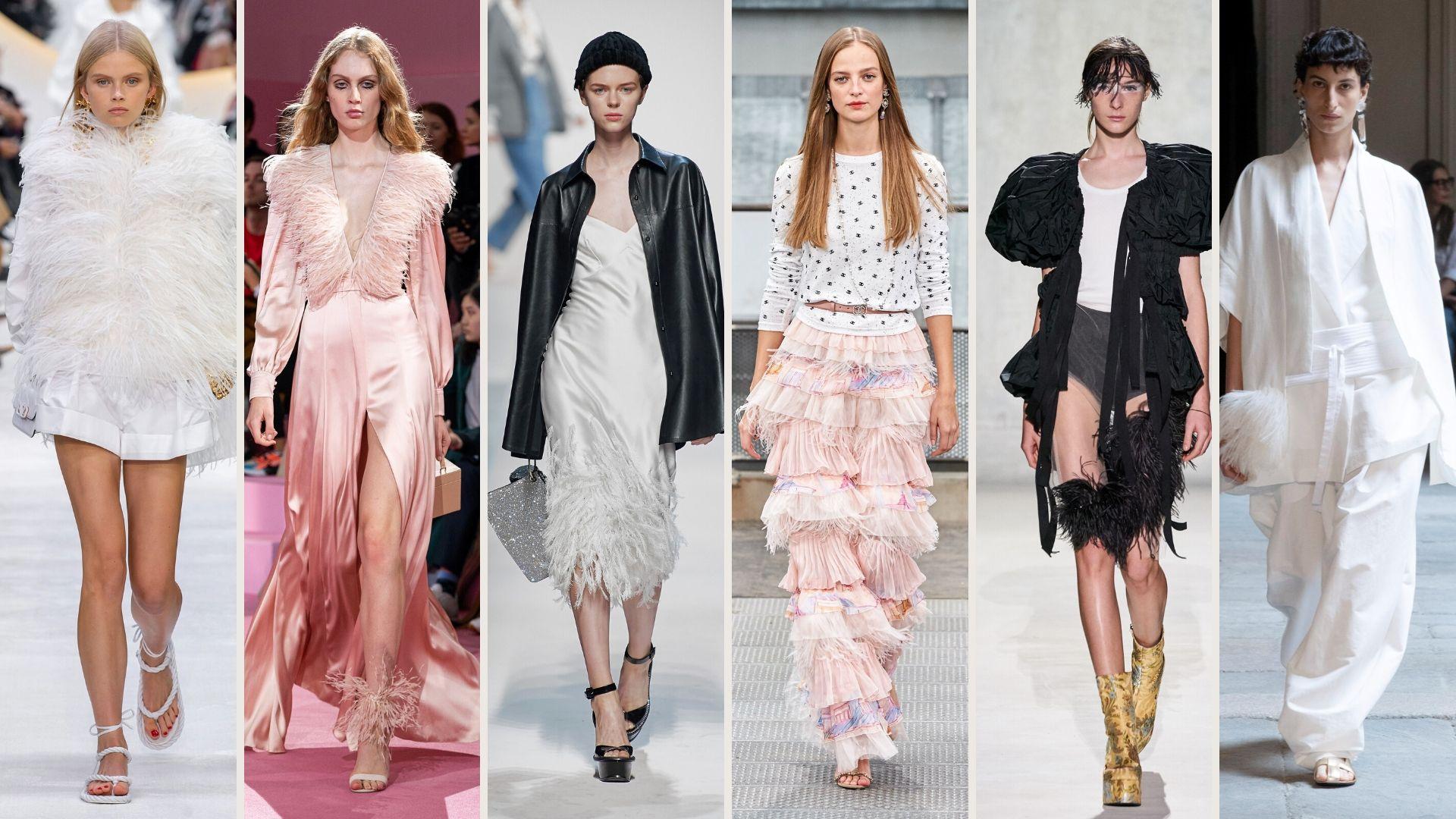 piume la tendenza moda primavera estate 2020