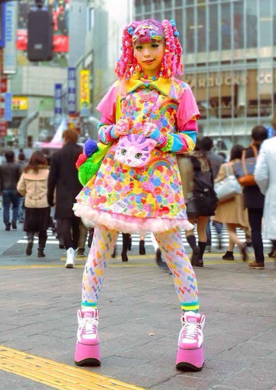ragazza harajuku a shibuya
