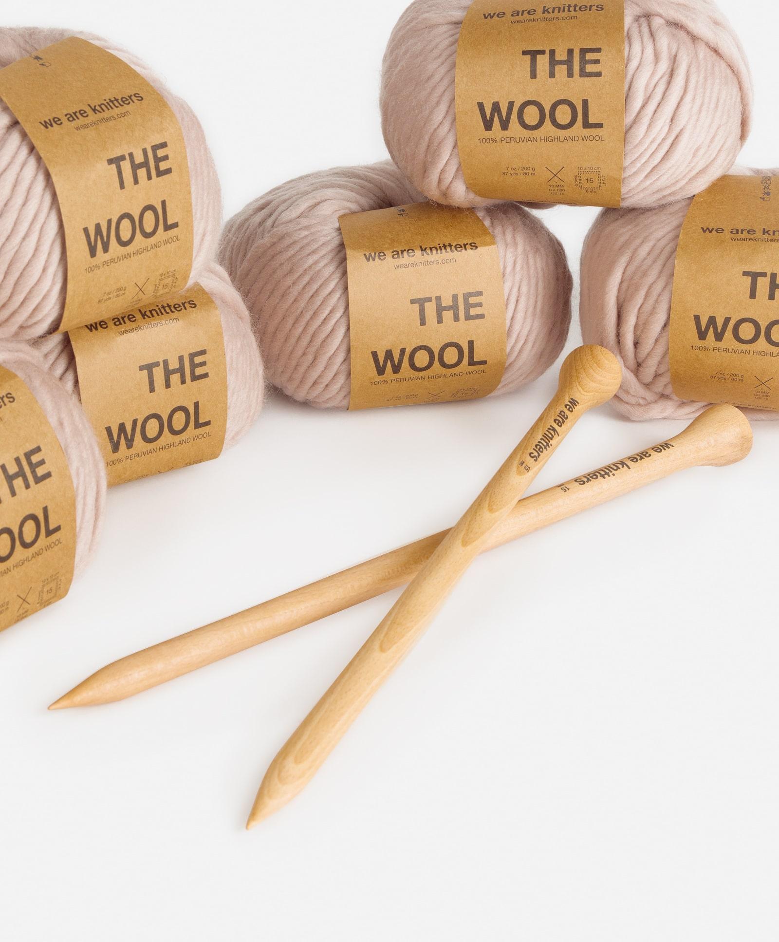 kit per realizzare un cardigan in maglia, passatempi creativi