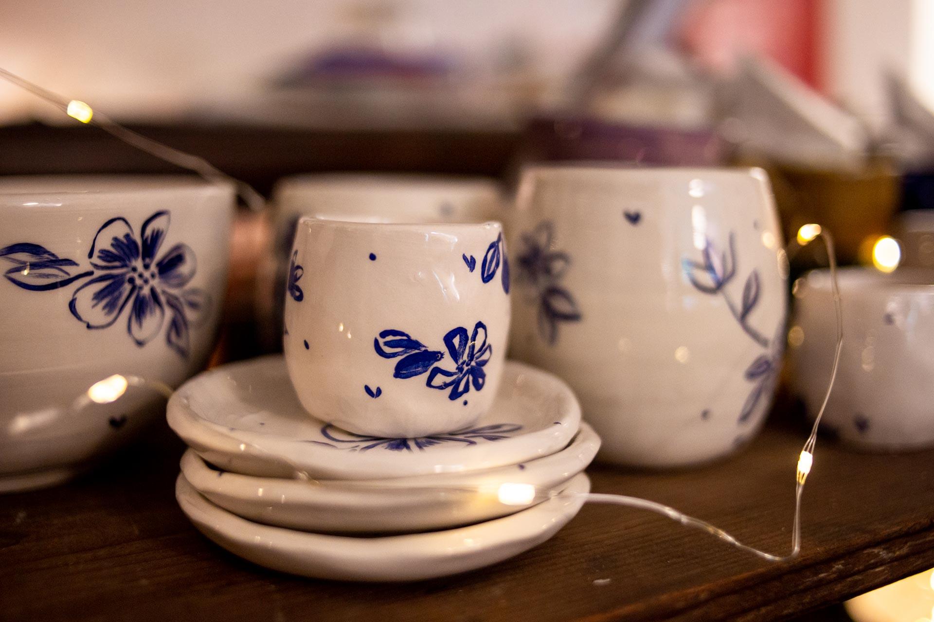 set in ceramica fatte a mano in toscana