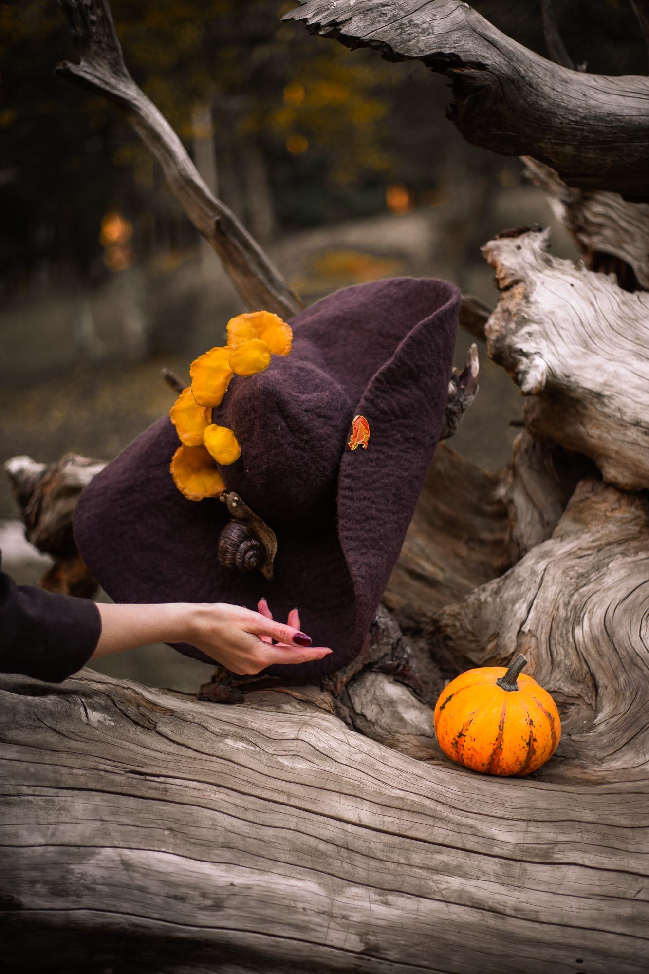 cappello da strega dei boschi