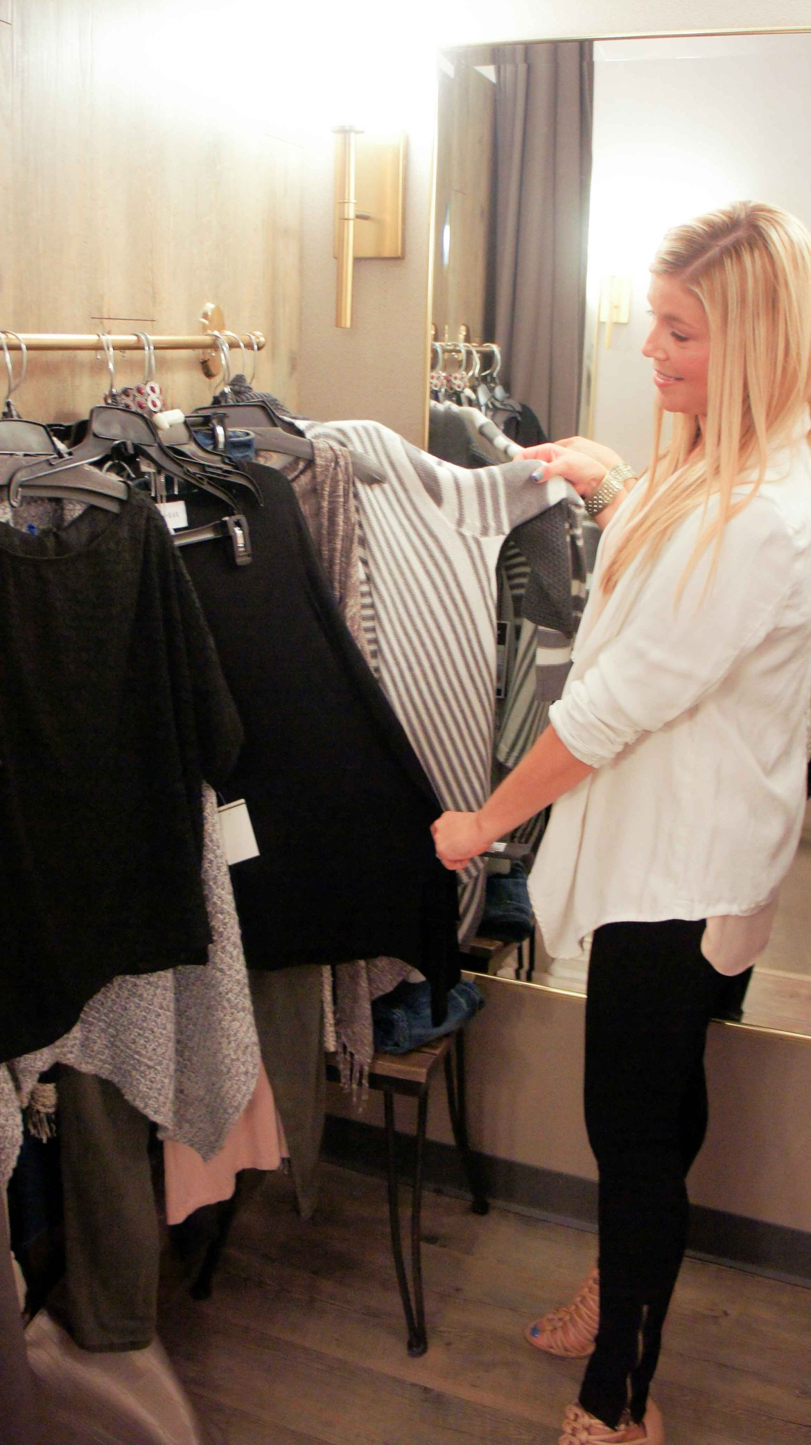 NJ Fashion Blogger Stylist Simon Mall Diva For a day