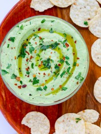 Avocado Greek Yogurt Dip