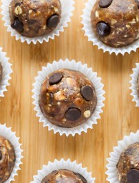 Chocolate Chip Peanut Butter Snack Bites