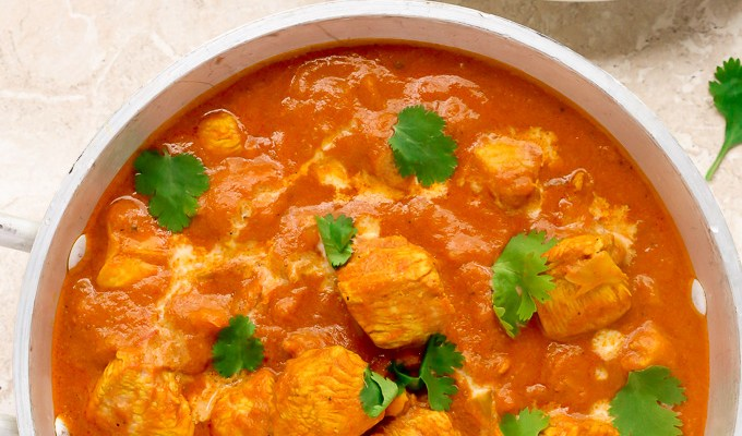 Quick Indian Chicken Curry