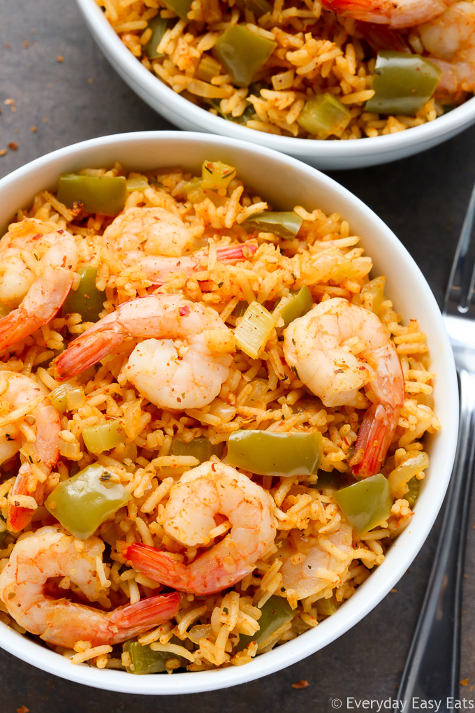 One pot cajun shrimp and rice everyday easy eats easy one pot cajun shrimp and rice recipe at everydayeasyeats forumfinder Choice Image