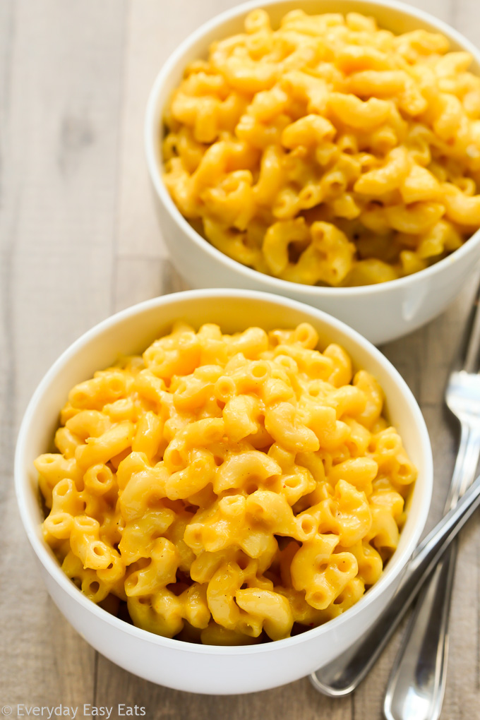 Easy Homemade Macaroni and Cheese | Recipe at EverydayEasyEats.com
