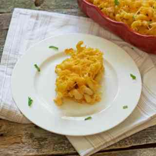 lightened up mac and cheese
