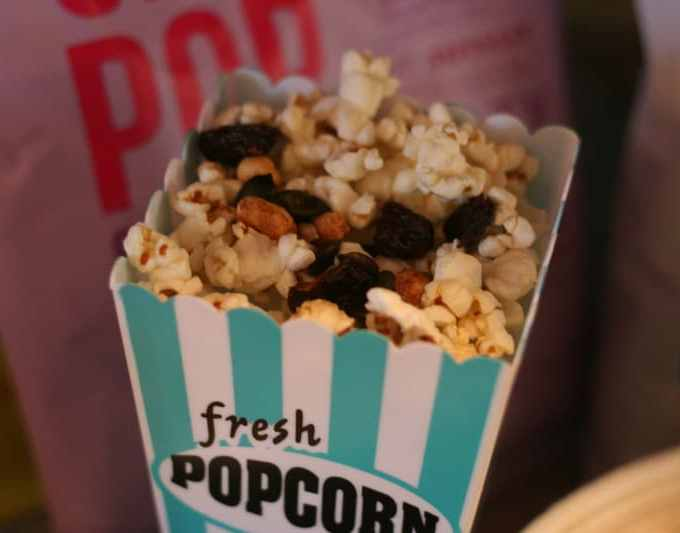 Game Day Healthy Popcorn Bar and Giveaway!