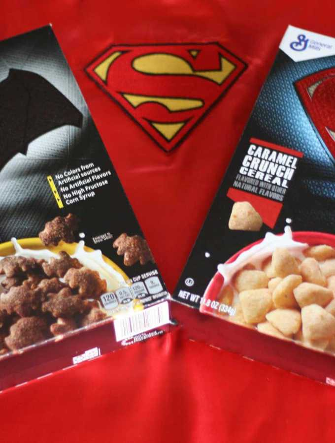 batman vs superman cereal