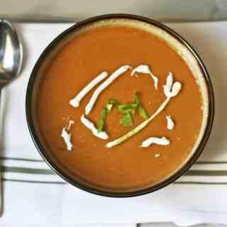 slow cooker split pea soup with ham
