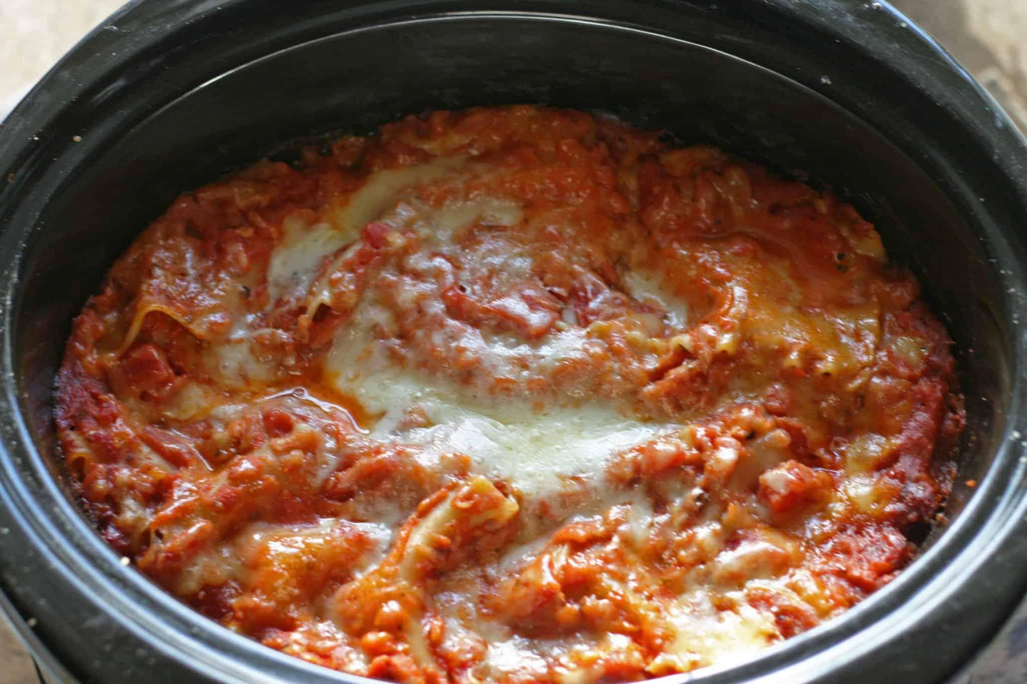 slow-cooker sneaky tofu lasagna
