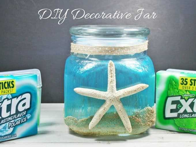 DIY Decorative Jar